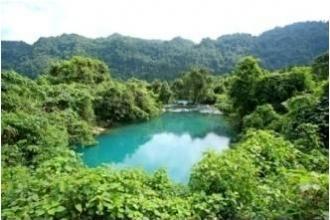 Suối Nước Moọc - Điểm đến sinh thái