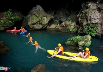 Đồng Hới - Động Phong Nha - Sông Chày, Hang Tối