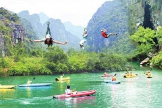 Động Thiên Đường – Sông Chày, Hang Tối - Chày Lập – Hang Tám Cô – Vườn thực vật - Động Phong Nha
