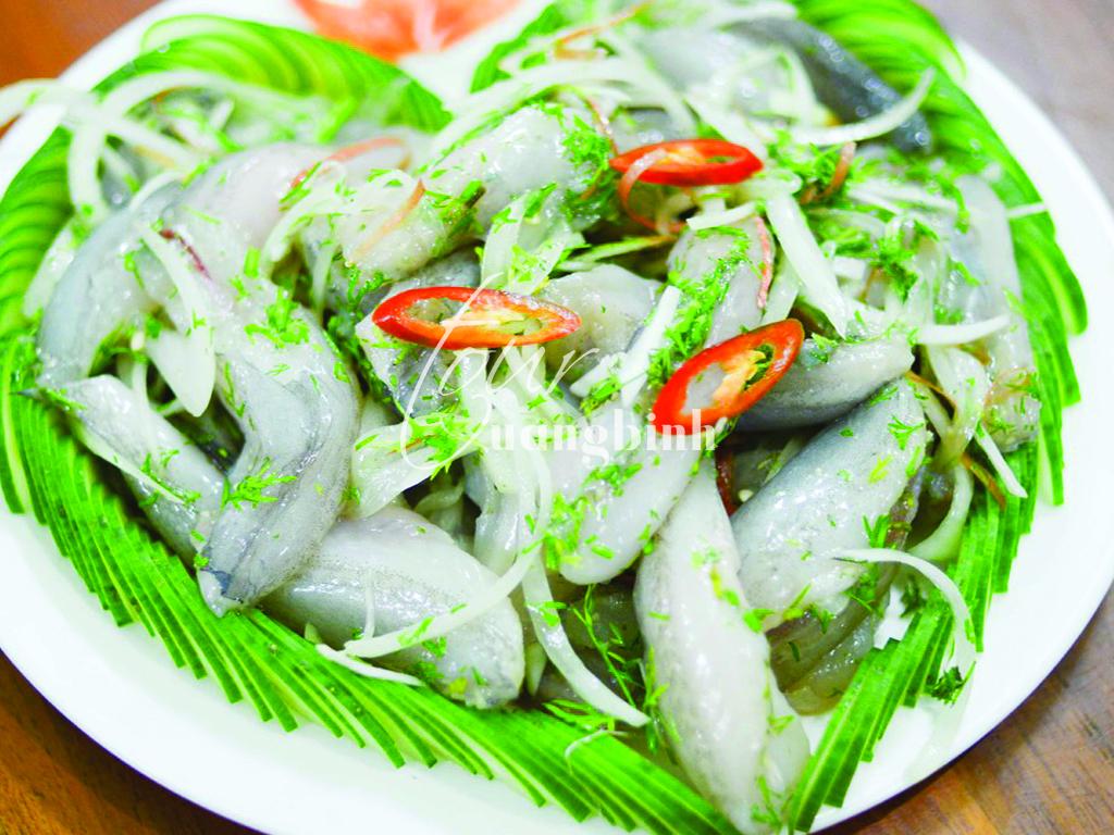 Cá khoai - một loại cá đặc sản của Quảng Bình